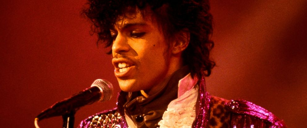 PHOTO: Prince performing at the Ritz Club on his Purple Rain Tour in 1984.