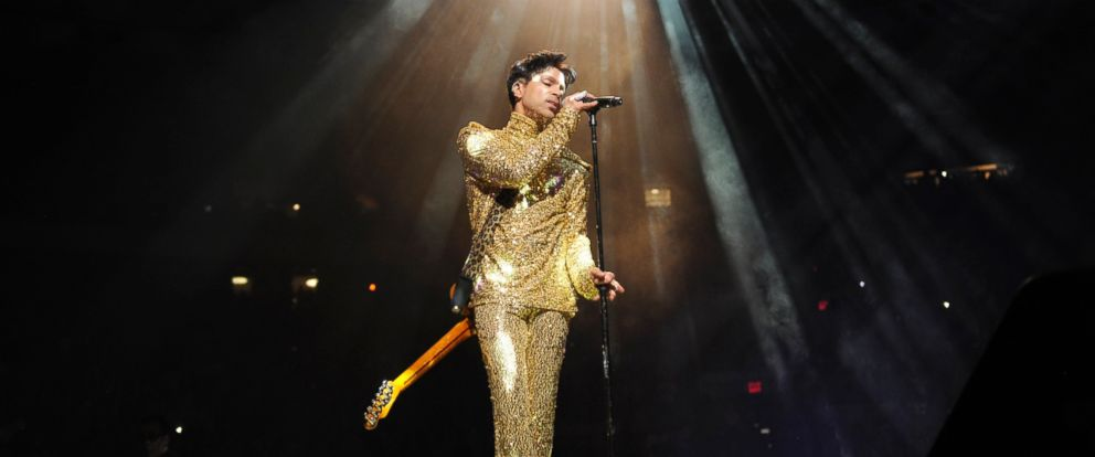 """PHOTO: Prince performs during his """"Welcome 2 America"""" tour at Madison Square Garden, Feb. 7, 2011 in New York City."""