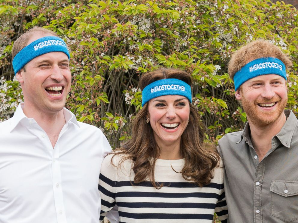 PHOTO: The Duke and Duchess of Cambridge and Prince Harry are spearheading a new campaign called Heads Together in partnership with inspiring charities, which aims to change the national conversation on mental well-being.