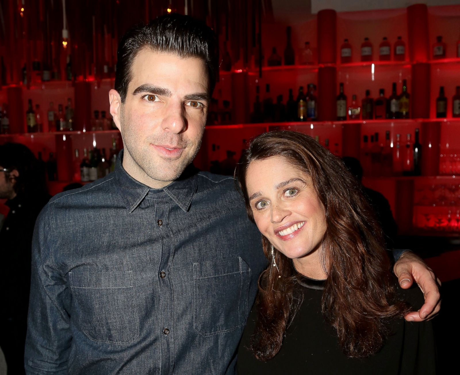 Zachary Quinto And Robin Tunney Picture