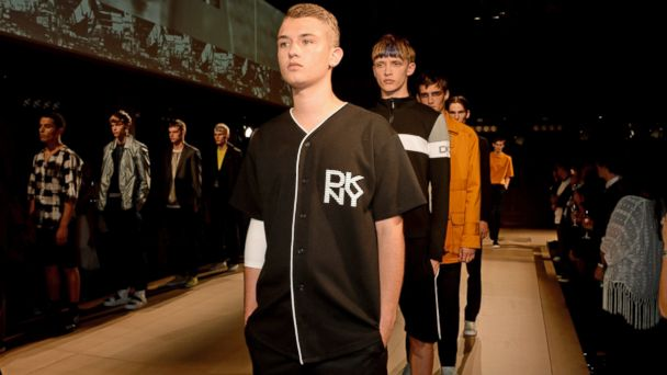 PHOTO: Rafferty Law walks the runway at the Esquire and DKNY MEN official opening night party for London Collections: Men at one Embankment, June 15, 2014, in London.