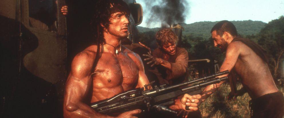 PHOTO: Sylvester Stallone as Rambo.