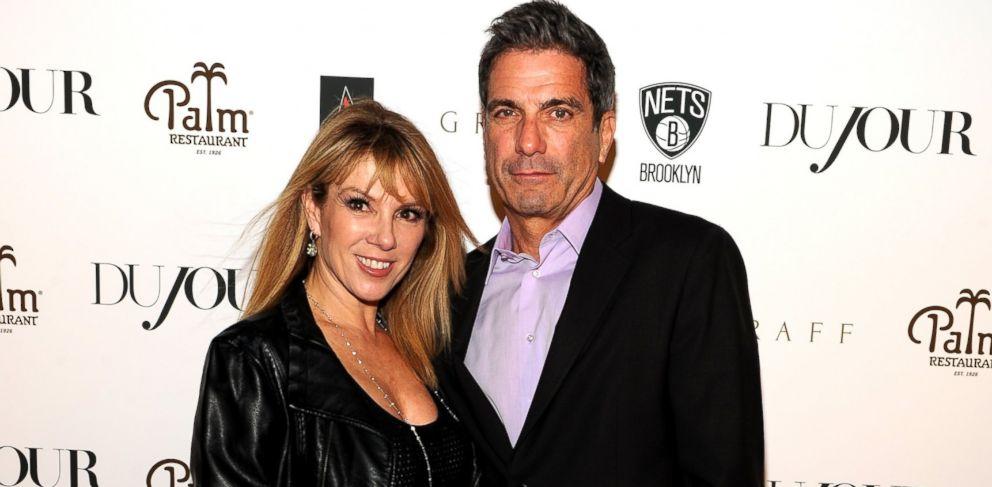 PHOTO: Ramona Singer and Mario Singer in New York, Oct. 21, 2013.