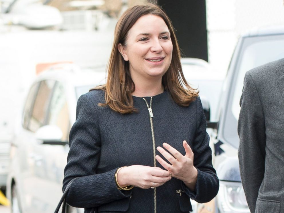 PHOTO: Rebecca Deacon during a visit by Prince William, Duke of Cambridge and Catherine, Duchess of Cambridge to The Stephen Lawrence Centre on March 27, 2015 in London.