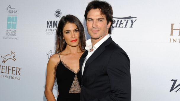 PHOTO: Nikki Reed and actor Ian Somerhalder attend Heifer Internationals 4th Annual Beyond Hunger Gala at the Montage, Sept. 18, 2015, in Beverly Hills, Calif.