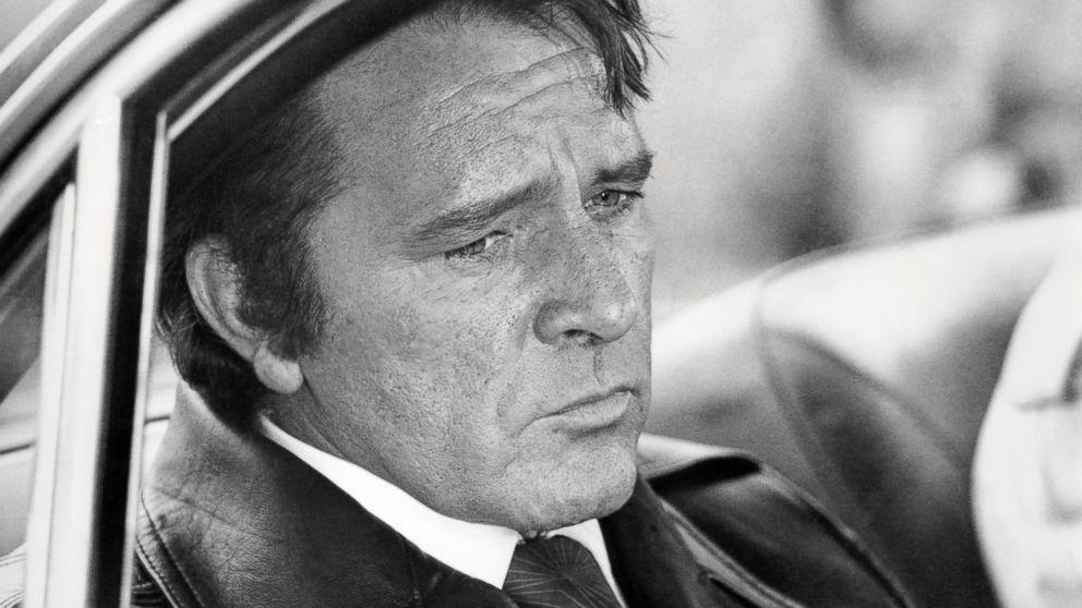 Welsh actor Richard Burton (1925 - 1984) as gangster Vic Dakin in 'Villain', directed by Michael Tuchner in  1971.