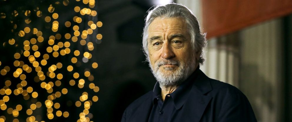 robert deniro Actor robert deniro used the occasion of a charity event in hollywood to blast the president as 'spoiled' and an 'idiot.