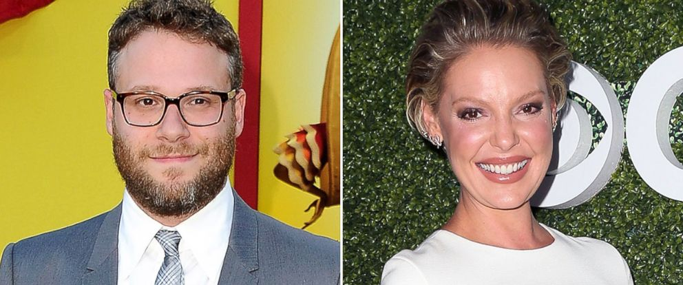 PHOTO: Seth Rogen and Katherine Heigl
