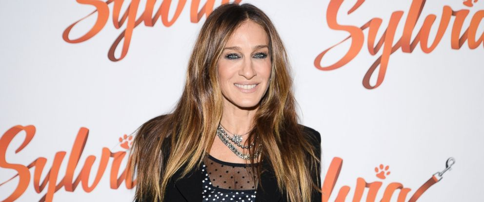 """PHOTO: Sarah Jessica Parker attends """"Sylvia"""" Opening Night on Broadway at Cort Theater, Oct. 27, 2015 in New York City."""