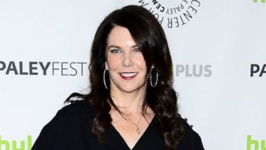 """PHOTO: Actress Lauren Graham arrives at the 30th Annual PaleyFest: The William S. Paley Television Festival featuring """"Parenthood"""" at the Saban Theatre in this March 7, 2013, file photo in Beverly Hills, Calif."""