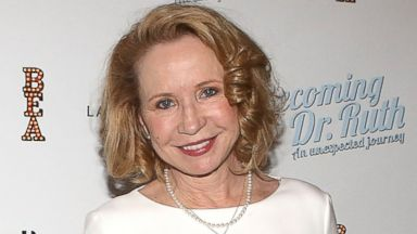 """PHOTO: Debra Jo Rupp attends the Off Broadway opening night After Party for """"Becoming Dr. Ruth"""" at The Westside Theatre in this Oct. 29, 2013, file photo in New York City."""
