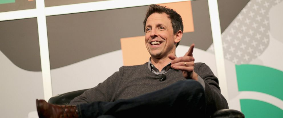 PHOTO: Seth Meyers is pictured on March 8, 2014 in Austin, Texas.