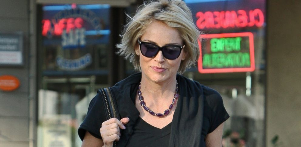 PHOTO: Sharon Stone is seen, Jan. 08, 2014 in Los Angeles.