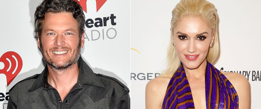 PHOTO: Blake Shelton, left, and Gwen Stefani.