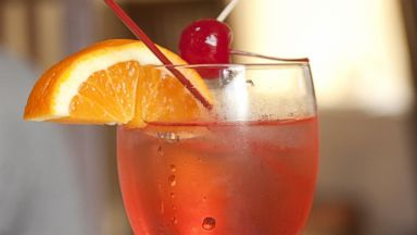 PHOTO: A Shirley Temple drink is shown.