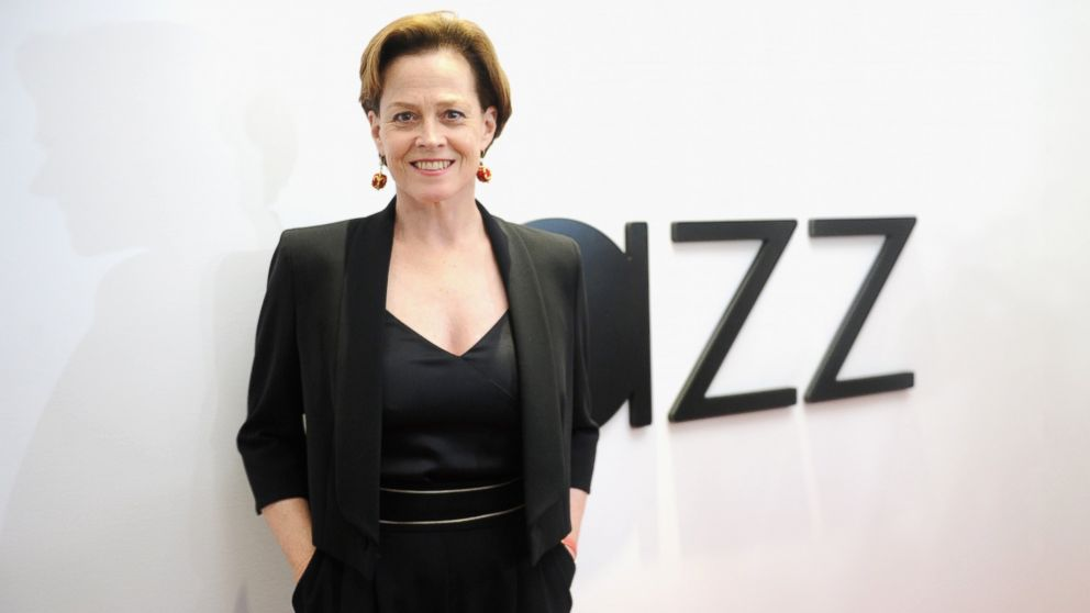 Sigourney Weaver attends the opening of the Mica and Ahmet Ertegun Atrium at Jazz at Lincoln Center, Dec. 17, 2015 in New York.