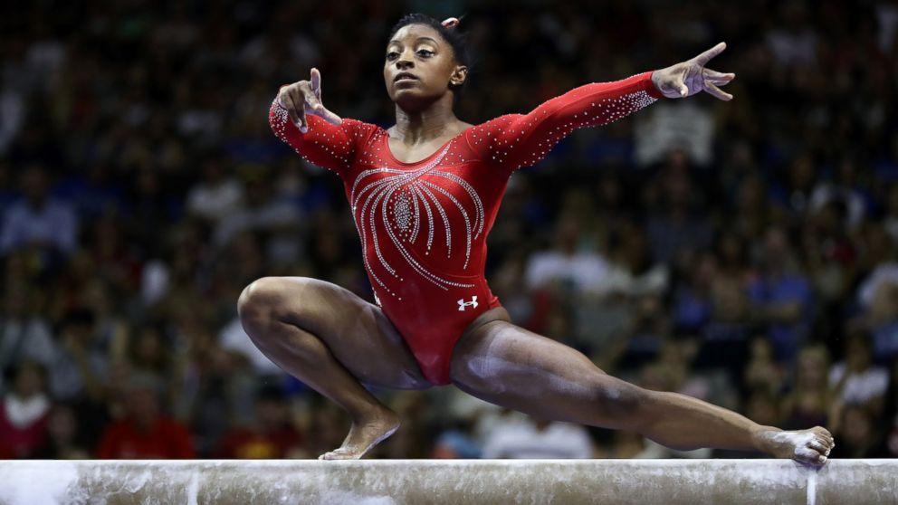 Meet the 2016 us women 39 s olympic gymnastics team abc news - Simone biles pics ...