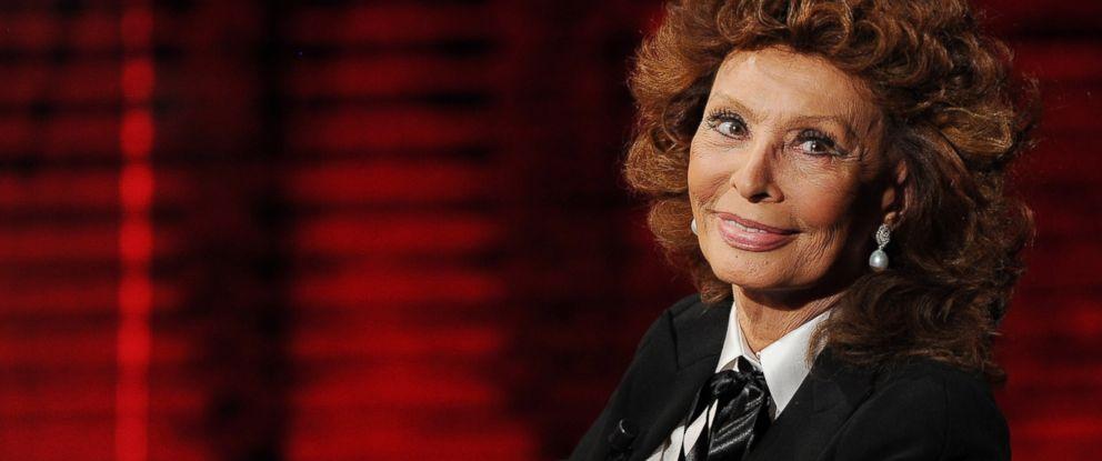 PHOTO: Sophia Loren attends Che Tempo Che Fa Italian Tv Show, Oct. 5, 2014, in Milan.