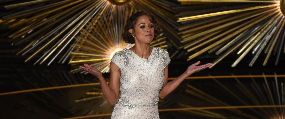 PHOTO: Stacy Dash is seen here on stage at the 88th Academy Awards, Feb. 28, 2016, in Hollywood, California.