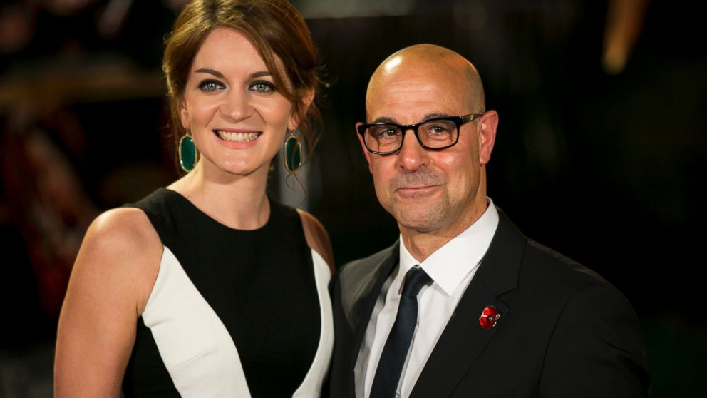 Stanley Tucci and his wife Felicity Blunt attend the UK Premiere of