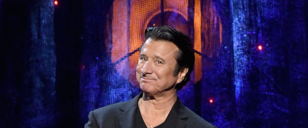 2017 Inductee Steve Perry of Journey speaks onstage at the 32nd Annual Rock & Roll Hall Of Fame Induction Ceremony at Barclays Center on April 7, 2017 in New York City.