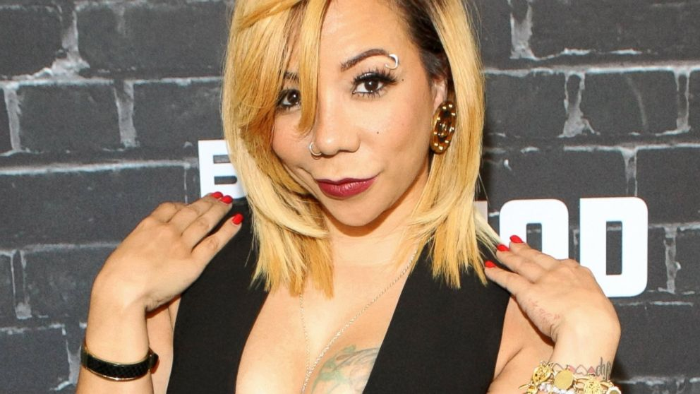 Tameka \'Tiny\' Harris Gets Surgical Eye Color Change - ABC News