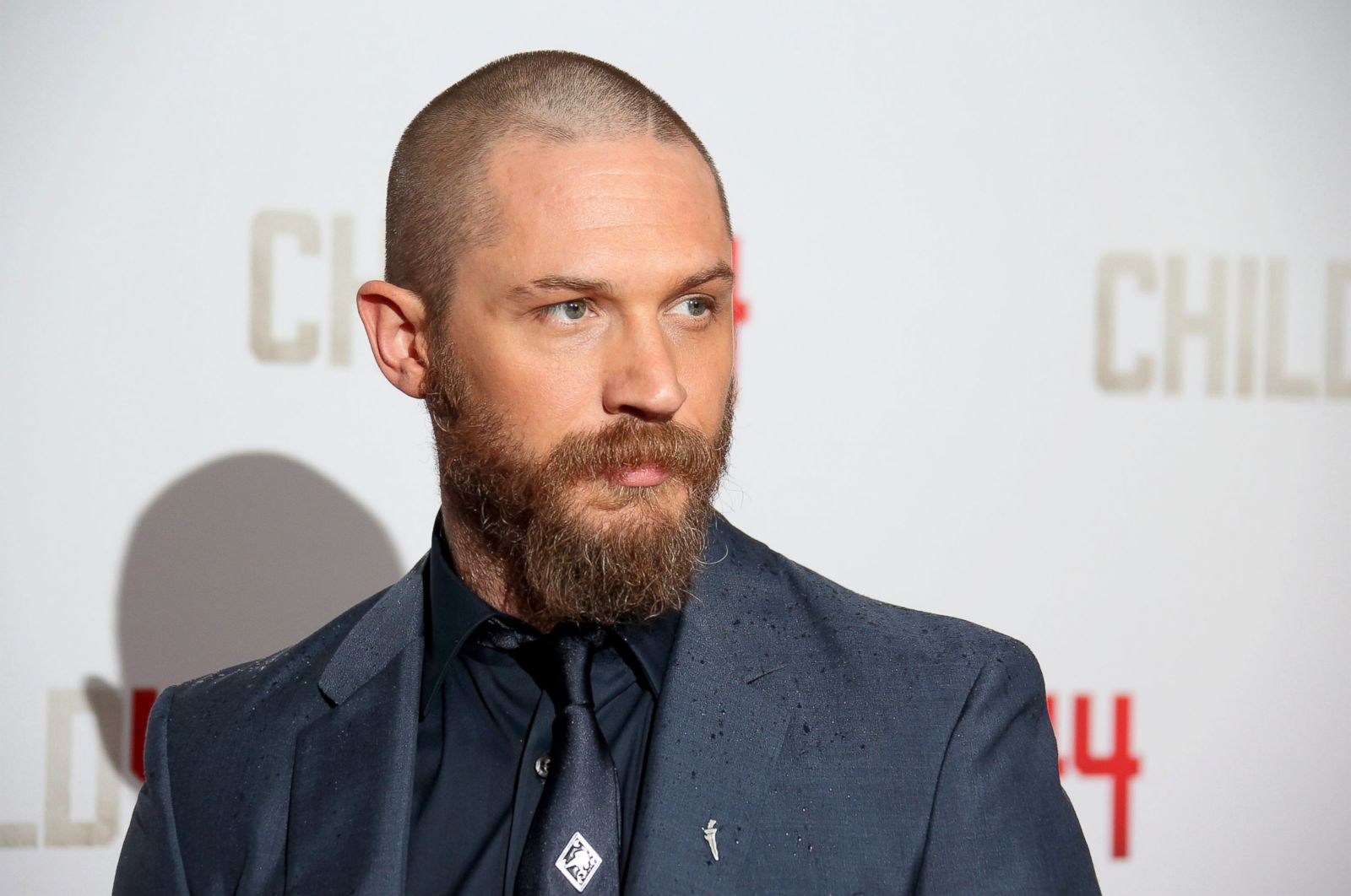 Weird Facial Hair Styles: Tom Hardy Reveals A New, Bearded Look Picture