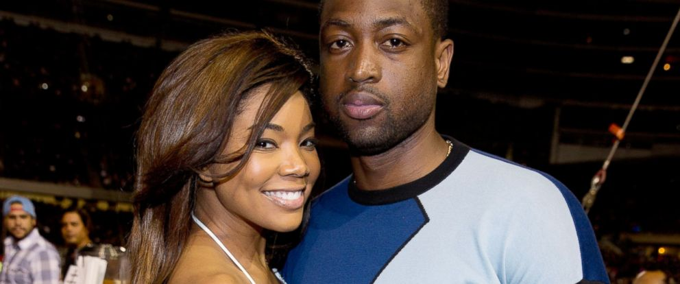 PHOTO: Gabrielle Union and Dwyane Wade attend the DUSSE VIP Riser and Lounge at On The Run Tour, July 24, 2014, in Chicago.
