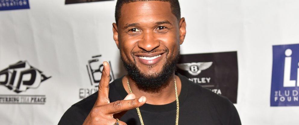 PHOTO: Usher attends The Grass Is Greener at Bowlmor lanes, Sept. 3, 2015, in Atlanta.