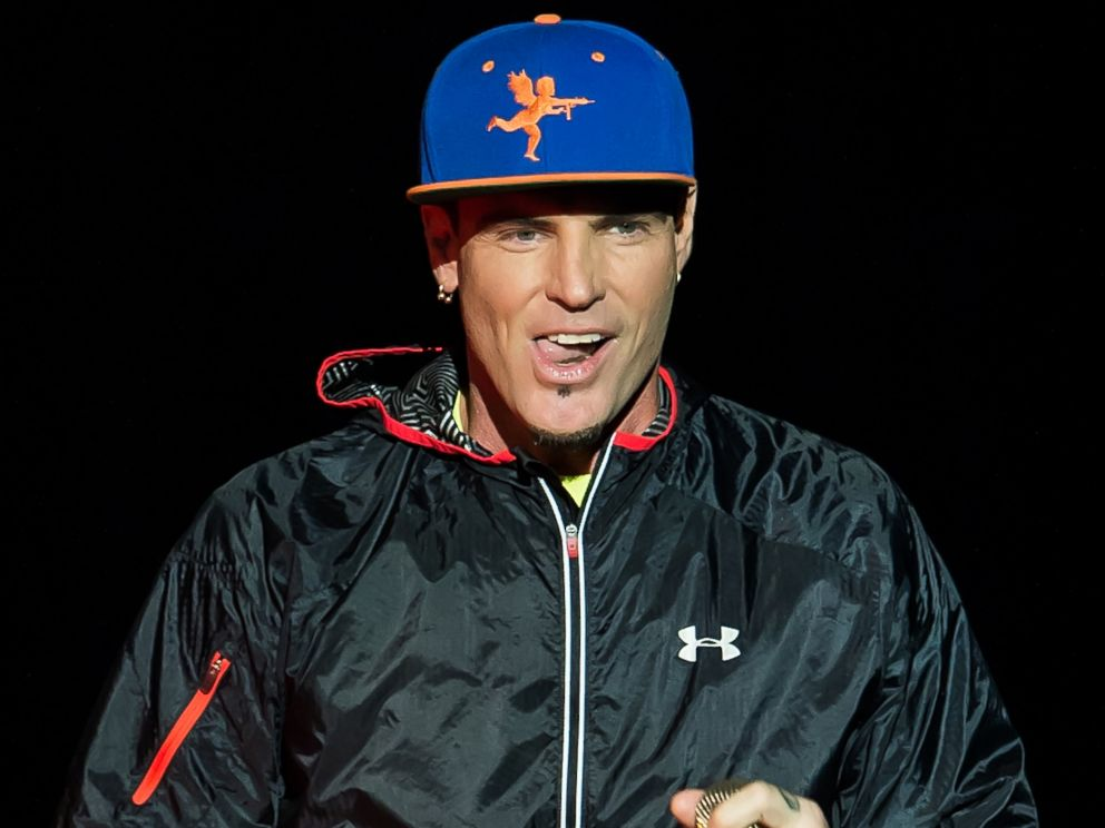 PHOTO: Vanilla Ice performs during I Love The 90s Tour at BB&T Pavilion, Aug. 6, 2016, in Camden, New Jersey.