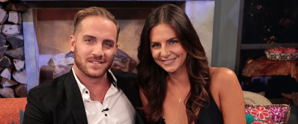 """PHOTO: (L-R) Vinny Ventiera and Isabel Goodkind are panelists on ABCs hit after-show """"Bachelor In Paradise: After Paradise"""" on Tuesday, Aug. 23, 2016."""
