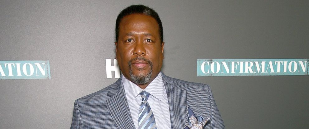 "PHOTO: Wendell Pierce poses at the NYC Special Screening of HBO Film ""Confirmation"" at Signature Theater, April 7, 2016 in New York City."
