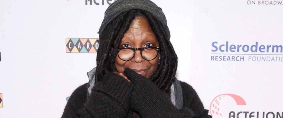 """PHOTO: Whoopi Goldberg attends """"Stand Up"""" For Scleroderma Research at Carolines On Broadway, Dec. 2, 2014, in New York City."""