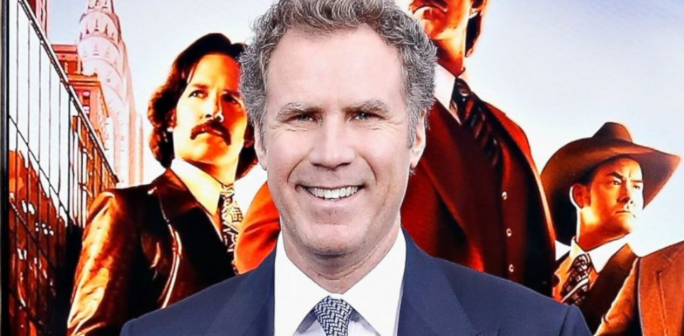 "PHOTO: Will Ferrell attends the ""Anchorman 2: The Legend Continues"" premiere, Dec. 15, 2013, in New York City."