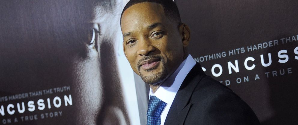 """PHOTO:Will Smith arrives at the screening of """"Concussion"""" at Regency Village Theatre, Nov. 23, 2015 in Westwood, Calif."""