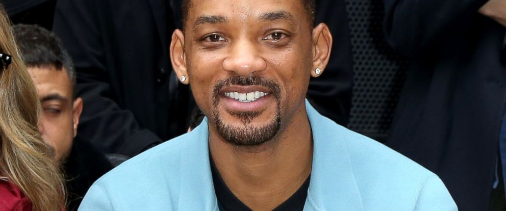 PHOTO: Will Smith attends the Lanvin Menswear Fall/Winter 2014-2015 Show as part of Paris Fashion Week, Jan. 19, 2014, in Paris.