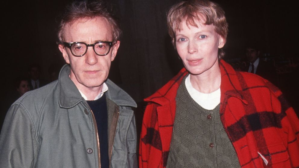 Image result for woody allen and mia farrow