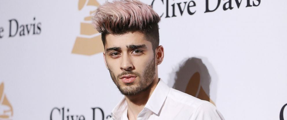 PHOTO: Zayn Malik arrives at the 2016 Pre-GRAMMY Gala and Salute to Industry Icons honoring Irving Azoff on Feb. 14, 2016 in Beverly Hills, Calif.