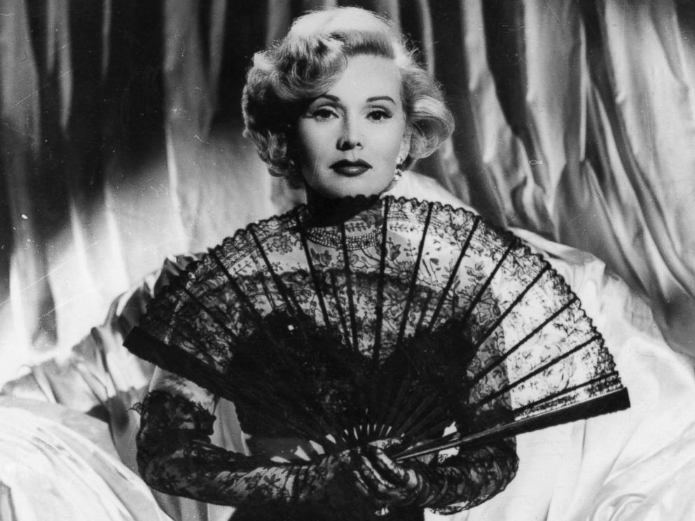 PHOTO: Hungarian born actress Zsa Zsa Gabor.