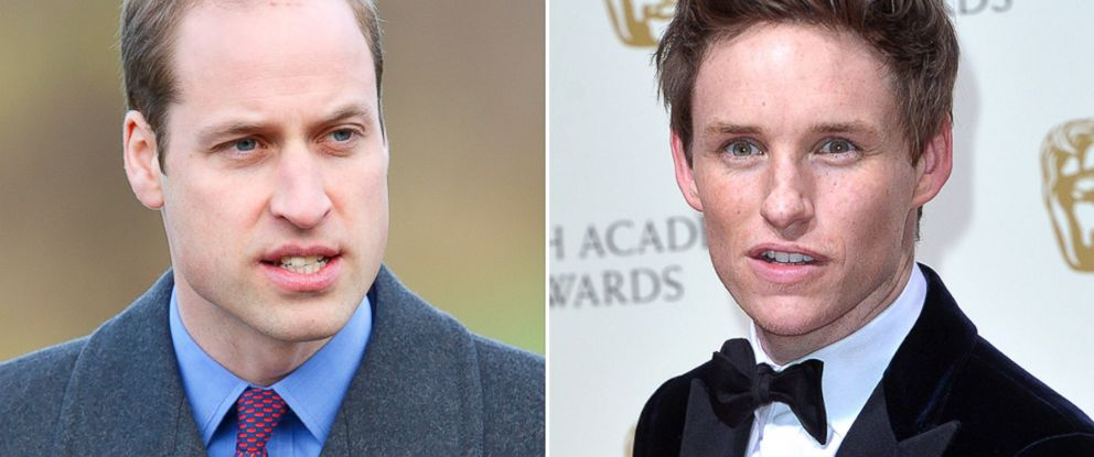 PHOTO: Prince William, left, and Eddie Redmayne attended Eton College together.