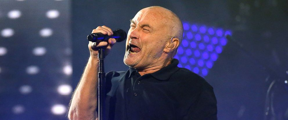 PHOTO: Phil Collins performs during the 2016 US Open opening night at on Aug. 29, 2016 in New York.