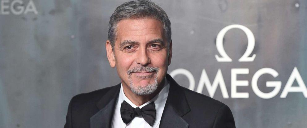 PHOTO: George Clooney attends the Lost In Space event to celebrate the 60th anniversary of the OMEGA Speedmaster at the Tate Modern, April 26, 2017, in London.