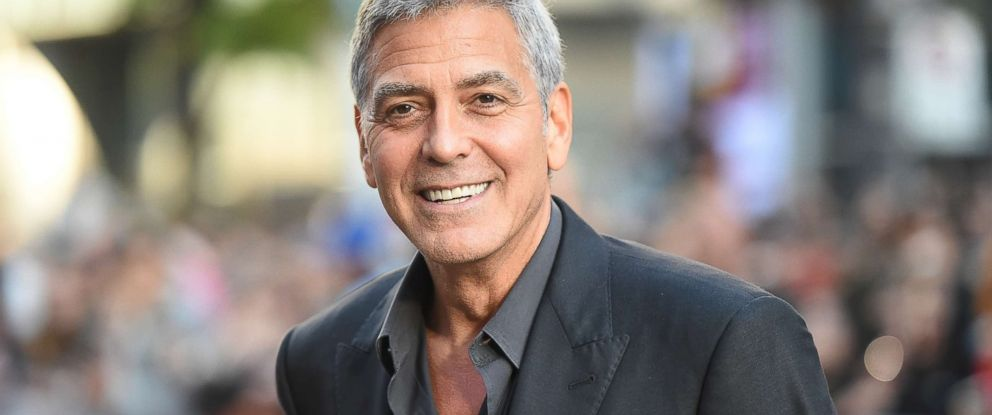 PHOTO: George Clooney attends a movie premiere during the Toronto International Film Festival on Sept. 9, 2017, in Toronto.