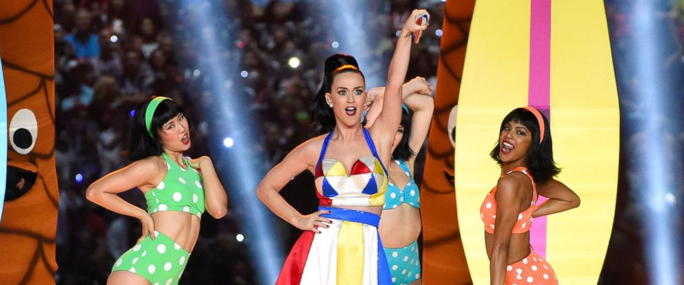 PHOTO: Katy Perry performs onstage during the Pepsi Super Bowl XLIX Halftime Show at University of Phoenix Stadium on Feb. 1, 2015 in Glendale, Ariz.