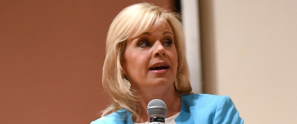 PHOTO: Gretchen Carlson speaks at Women at the Top: Female Empowerment in Media Panel at the 2016 Greenwich International Film Festival, June 12, 2016, in Greenwich, Connecticut.