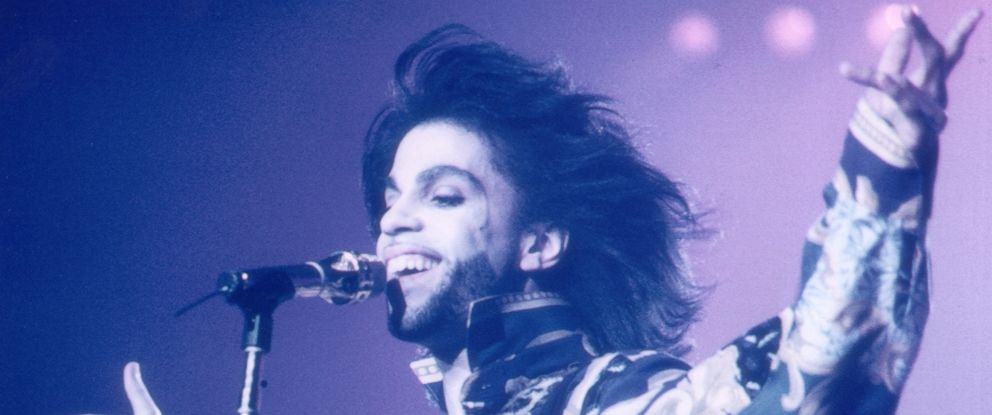 PHOTO: Prince performing at Wembley, London, Aug. 22, 1990.