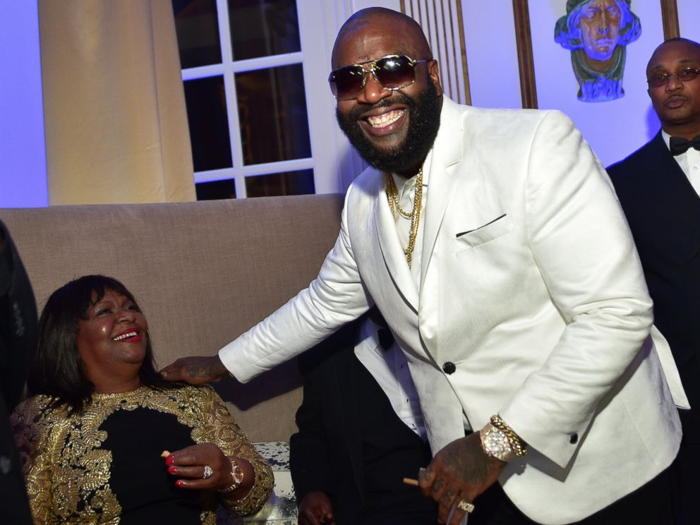 PHOTO: Rick Ross attends his Private Birthday affair at Rick Ross Mansion, Jan. 28, 2016, in Atlanta, Georgia.