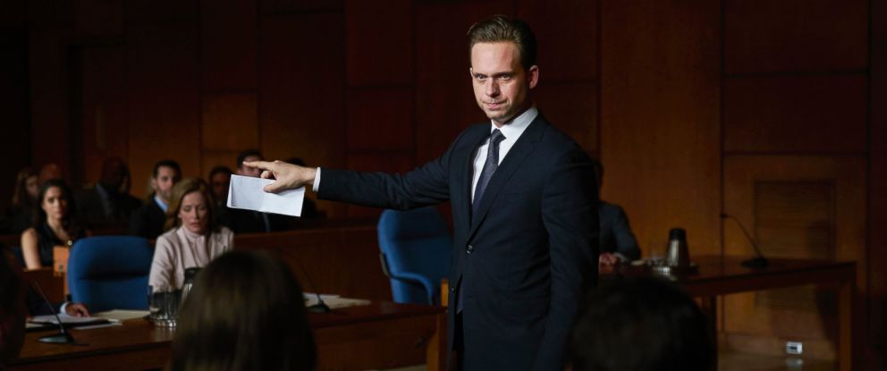 suits star patrick j adams explains why mike ross going to prison