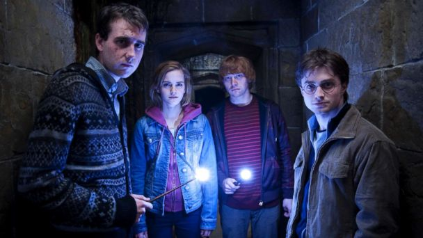 Hogwarts reunion photo shows  'Harry Potter' stars Emma Watson, Tom Felton and Matthew Lewis