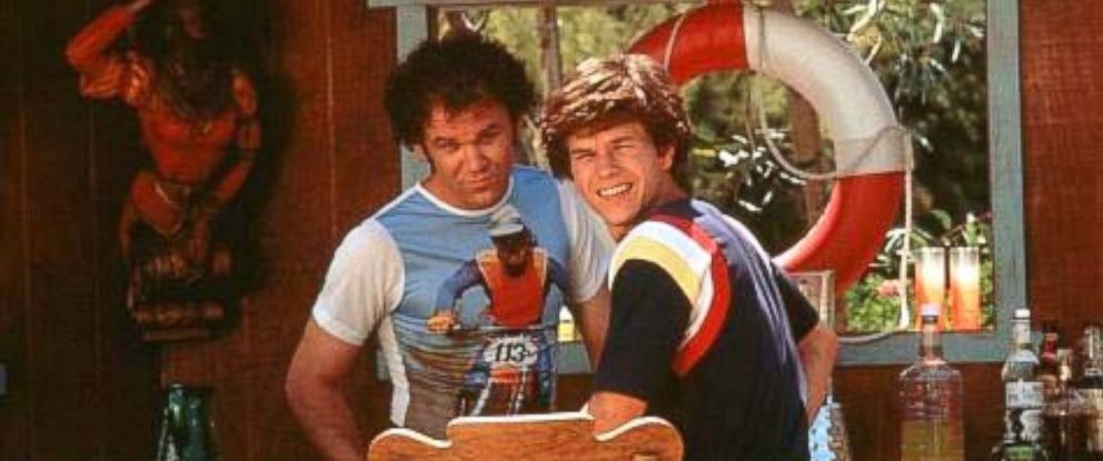 """PHOTO: Mark Wahlberg and John C. Reilly in a scene from the movie, """"Boogie Nights,"""" 1997."""